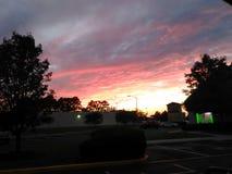 Crepúsculo do néon @ Fotos de Stock