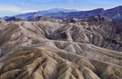Crepúsculo em Death Valley Fotografia de Stock