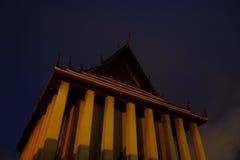 Crepúsculo en el Watsraket Imagen de archivo libre de regalías