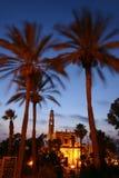 Crepúsculo en Jaffa Fotos de archivo