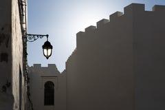 Crepúsculo en Marruecos Imágenes de archivo libres de regalías