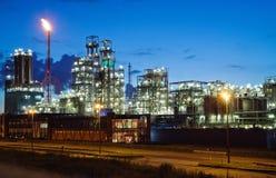 Crepúsculo industrial Imagem de Stock Royalty Free