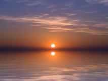 Crepúsculo mediterráneo Imagenes de archivo