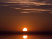 Crepúsculo mediterráneo Foto de archivo