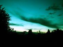Crepúsculo na natureza imagem de stock royalty free