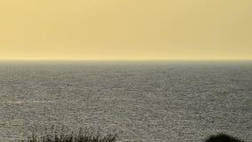 Crepúsculo no mar Báltico Fotografia de Stock