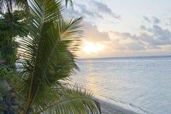 Crepúsculo no paraíso Fotografia de Stock Royalty Free