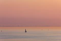 Crepúsculo rosado Fotos de archivo