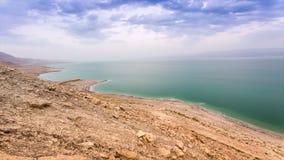 Crepúsculos del mar muerto, Israel almacen de video