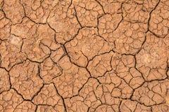 Crepa del suolo Fotografia Stock
