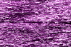 Crepe το έγγραφο στο πορφυρό χρώμα Στοκ φωτογραφίες με δικαίωμα ελεύθερης χρήσης