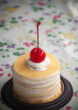 Crepe Cake Stock Image