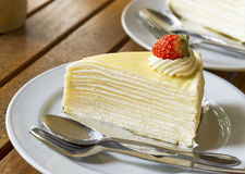 Crepe Cake Stock Photography