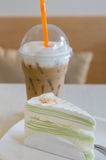 Crepe cake Royalty Free Stock Photos