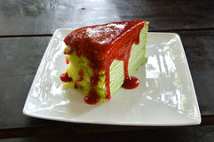 Crepe Cake Stock Images