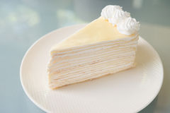 Crepe cake. Royalty Free Stock Image