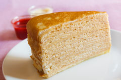 Crepe Cakes. Stock Image
