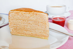 Crepe Cakes. Royalty Free Stock Image