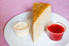 Crepe Cakes. Stock Photography