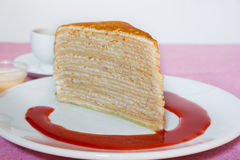 Crepe Cakes. Royalty Free Stock Photo