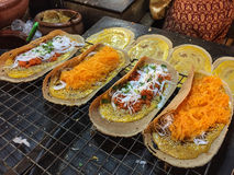 Crepe curruscante tailandesa Foto de archivo