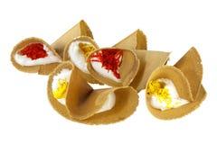 Crepe curruscante tailandesa (Kanom Buang) foto de archivo libre de regalías