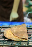 Crepe del arroz pegajoso del sésamo Fotos de archivo libres de regalías