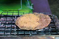Crepe del arroz pegajoso del sésamo Imagenes de archivo