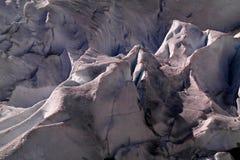 Crepe del ghiacciaio Fotografia Stock Libera da Diritti