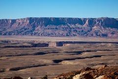 Crepe e scogliere del canyon fotografia stock