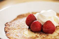 Crepe finlandais Photo stock