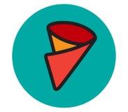 Crepe Icon Design Stock Images