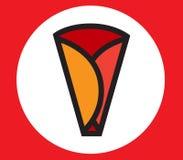 Crepe Icon Design Royalty Free Stock Photos