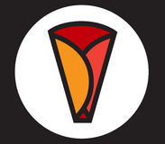 Crepe Icon Design Royalty Free Stock Photography