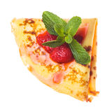 Crepe isolated Royalty Free Stock Photo