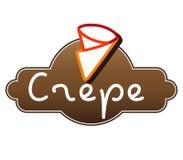 Crepe Logo Design Royalty Free Stock Photo