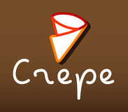 Crepe Logo Design Stock Photo