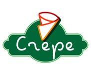 Crepe Logo Design Stock Photography