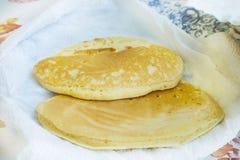 Crepe pancake  crape slapjack Royalty Free Stock Photos
