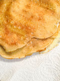 Crepe pancake  crape slapjack Royalty Free Stock Photography