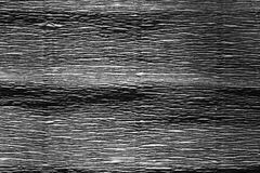 Crepe paper in black and white. stock photos