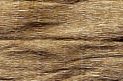 Crepe paper in brown color. Abstract background and texture for design stock image