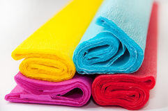 Crepe paper color Stock Photo