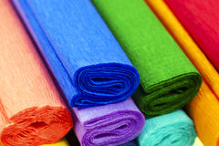 Crepe paper Stock Photography