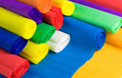 Crepe papers Royalty Free Stock Photography