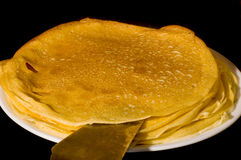 Crepe plate Royalty Free Stock Photos