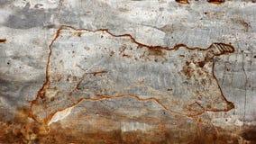 Crepe sul pavimento del cemento fotografie stock libere da diritti