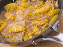 Crepe Suzette Royalty Free Stock Photo