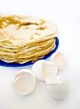 Crepe y shell Foto de archivo libre de regalías