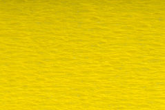 Crepe yellow paper Stock Photography